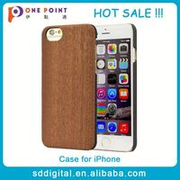Hot sale promotion sapelli wood grain snap-on cell phone case