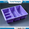 Good quality plastic food compartment tray