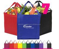 high quality non woven bag/customized pp non woven bags/Logo printed non woven shopper tote