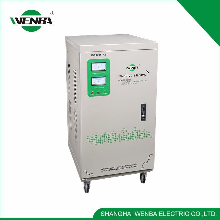 Diseño moderno de Alta Eficiencia Eléctricas Multipropósito 15kva Estabilizador
