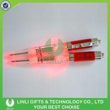 Plastic Customized Logo Light Promotional Led Pen