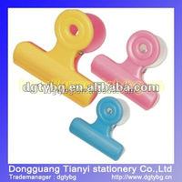 Color Binder clip colored binder clip size of binder clip