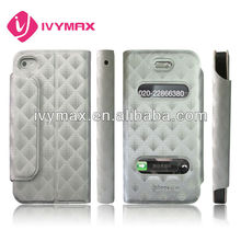 Hottest 2012 for iphone 4case leather case
