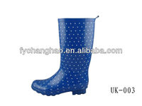 Fashionable Sexy lady rubber shoe boots CH-503