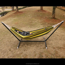 2015 new prodcut Outdoor metal stand cotton hammock