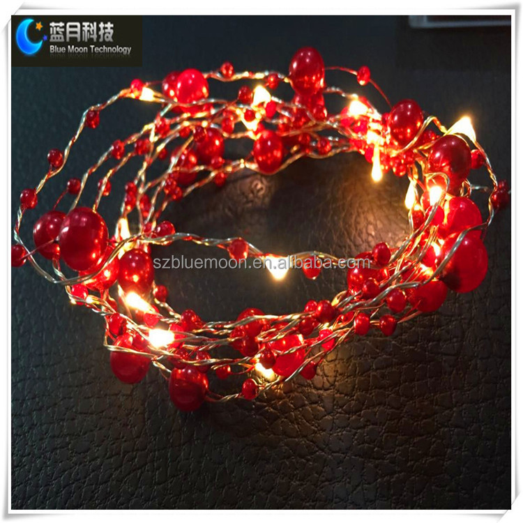 Hot Fashionable Wholesale Led Pearl Shape Led Copper Wire String Light - Buy Pearl Shape Led ...