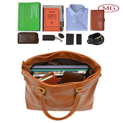 2015 women's bag genuine leather carry T shirt,magazine,wallet for travelling