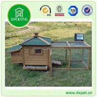 DXH022 High quality wooden rooster chicken coop