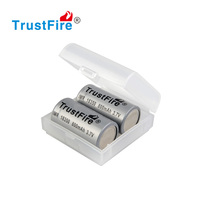 Turstfire IMR 18350 rechargeable li-ion battery 800lumens flat top without pcb for e-cig modes
