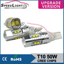 Speedlight Auto LED 12V Bulb CE & RoHS approved 50W Car Interior LED Lights