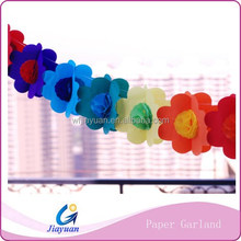 Honeycomb paper garland wedding favor and party festival use