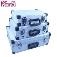 Factory Customizable Hard Shell Small Portable Aluminum Tool Box