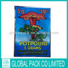 Dyno mite shiny potpourri spice bags/herbal incense pouch/wholesales legal blend packing pouch
