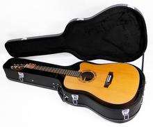 41 inch black custom guitar case
