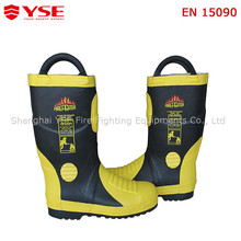 High ankle safety shoes,fireman safety boots