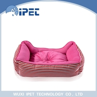 Puppy warm durable plush animal shaped pet bed for small animals