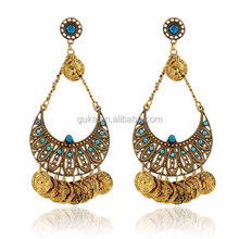 hot sell beatiful head crystal europe earring