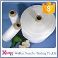 Brillante& semi- blanco mate primas utiliza hilo de coser 1.67kg/cono de poliéster de hilados de papel