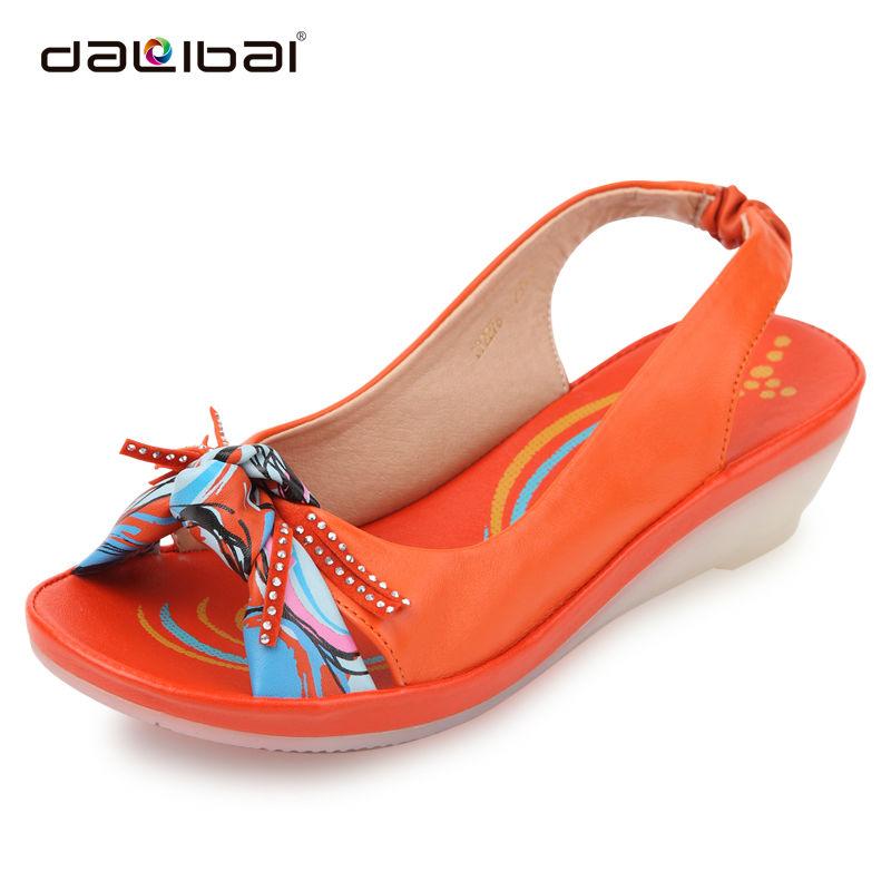Amazing 2017 Summer Women Sandals Casual Peep Toe Swing Shoes