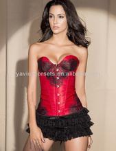 toptan giyim fabrikası siyah dantel kırmızı tutku seksi iç çamaşırı