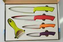 Colored ceramic display case knife