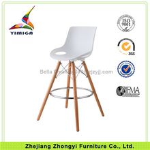 Professional Design Chromed Iron Cross High Quality Relaxing Bar Chairs