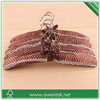 lace decorative padded satin hanger