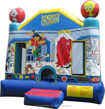 Commercial Inflatable Looney Tunes Jump bouncing castle,bouncy castle,jumping castle