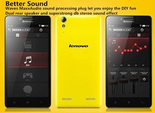 2015Newest! Lenovo K3 Music Lemon 5 Inch MSM8916 Quad Core Android 4.4 IPS 1280X720 16GB ROM 8MP Camera Dual Sim Mobile Phone 4G