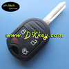 High Qualit 4 buttons 433mhz remote control key for Ford Edge key ford remote key