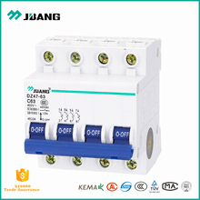 Patent product DZ47-63 16 amp 4500Amp breaking capacity 1p 2p 3p 4p mini circuit breaker