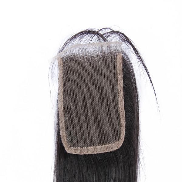 Meilleur Qualité 8A Humains Vierges D'un Donateur Cheveux Brésiliens Cheveux Avec Fermeture