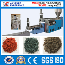 2015 Newest Double Stage Double Screw Waste Plastic Granulator Made in China