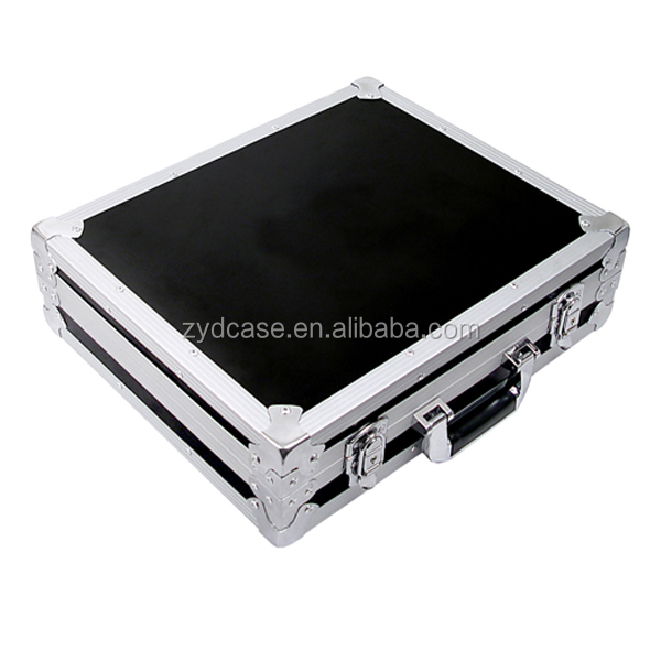 Elegant and modern aluminum frame metal attache case,hard aluminum briefcase, hard carrying case for laptop (ZYD-SM8113)