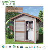 low labor cost High Quality WPC waterproof sheds garden