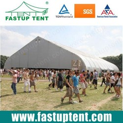 High Quality Sport field Curve Tent for sale