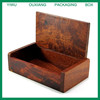 rose wood new design wooden business card box