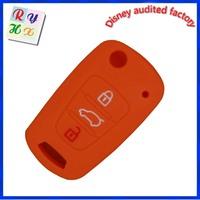 Top quality Kia 3 button remote cover key blank Kia remote control case
