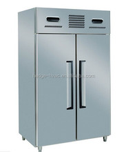 1.5LG 2-Door 2-Temp. Stainless Steel Commercial Rrefrigerator/Freezer/Fridge