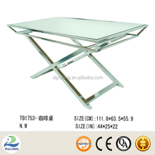 Modern Home Use Glass Coffee Table