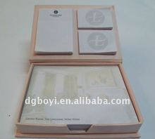 Sticky memo pad,combination memopad,book style memopad