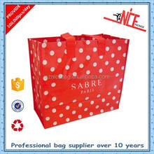 Wholesale Colorful Printing Shopping Recycled OPP Laminated PP Woven Bag In Wenzhou