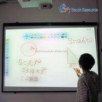 smart board for school use 84inch touch screen optic interactive board