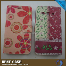 Hot new products for 2015 flip leather case for nokia 620 mobile phone case customrized with card solt