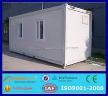 prefabricated luxury pre-made container house with wheels