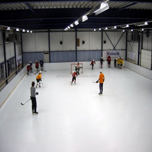 synthetic abrasion resistant ice hockey
