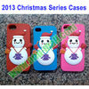 2013 Christmas Series Christmas Snowman Case for iPhone 5S & 5