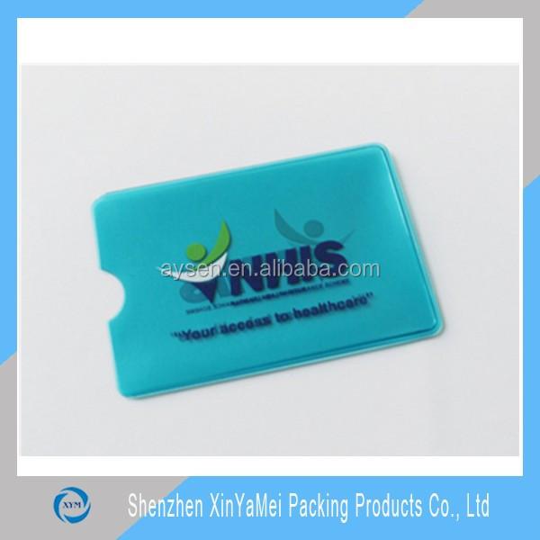 credit card plastic holder