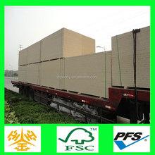 China supplier full polar osb board white melamine particle board kitchen cabinet