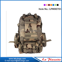 Mountaineering Backpack Camping Hiking Rucksack Tactical Military Backpack